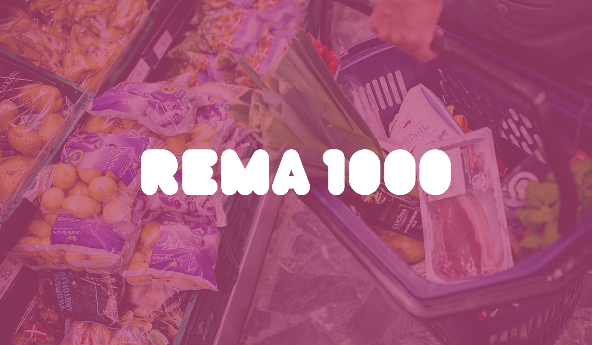 Rema1000 customer case